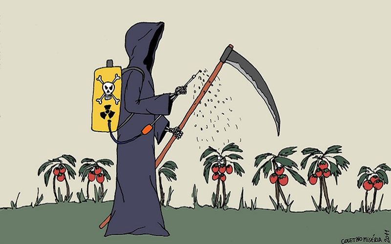 Imagem de PL do Veneno libera substâncias que apresentam riscos inaceitáveis à saúde