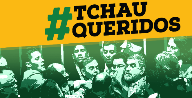 """Imagem de """"Tchau Querido"""" divulga ranking de parlamentares que não devem se eleger em 2018"""